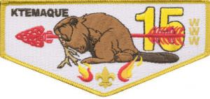 "1 Year - Ktemaque Lodge ""Golden Beaver"" Membership"