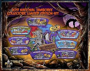 WPC Commemorative Numbered Patch Set Number 17