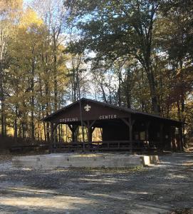 Training - Sperling Pavilion in front of TP
