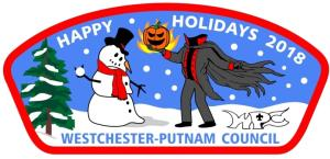 2018 WPC Holiday Patch and Ghost Patch Set